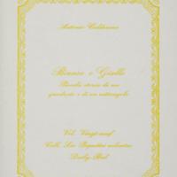 Bianco e giallo : Piccola storia di un quadrato e di un rettangolo / Antonio Calderara