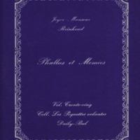 Phallus et momies / Joyce Mansour & Reinhoud