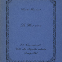Le hors venu / Claude Haumont