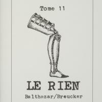 Tome 11 : Le rien / André Balthazar - Roland Breucker
