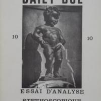 Revue Daily-Bul 10 - Essai d'analyse stéthoscopique du Continent Belge
