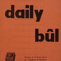 Revue Daily-Bul  1 - Linéaments d'un Univers Bul  ou Vestibule Bul